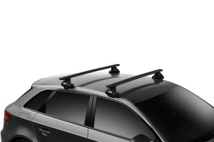 Bagażnik THULE  7105 Evo Clamp + WingBar Evo Black + kit